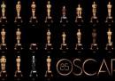 Il poster ufficiale per l'85esima edizione degli Oscar
