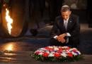 Obama allo Yad Vashem