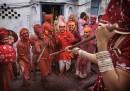 Lathmar Holi, India