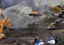 83 minatori intrappolati da una frana in Tibet