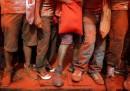 L'anno nuovo in Nepal, rosso