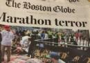 La prima pagina del Boston Globe di martedì