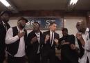 Il video di Michael Bublé che canta nella metro di New York