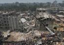 A Dacca ci sono centinaia di dispersi