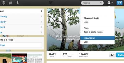 Twitter sicurezza: codice di verifica all'accesso