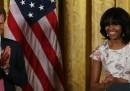 Le foto del principe Harry con Michelle Obama