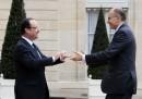Incontro tra Letta e Hollande a Parigi