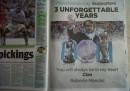 Mancini ha comprato una pagina di giornale per salutare i tifosi del Manchester City