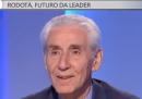 Stefano Rodotà a Otto e mezzo