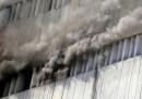 L'incendio a Lahore, in Pakistan
