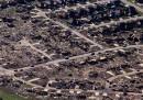 In Oklahoma dopo il tornado, dall'alto