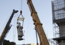 La rimozione della statua di Colombo a Buenos Aires