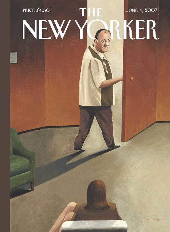 New Yorker - Cover Sopranos
