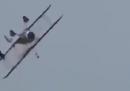 Il video dell'incidente all'air show in Ohio
