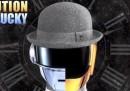 """""""Get Lucky"""" dei Daft Punk nei decenni passati"""