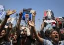 Manifestazione pro-Morsi al Cairo, in Egitto