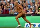Lo streaker dell'anno, in Australia