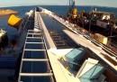 La Costa Concordia vista da un drone - video