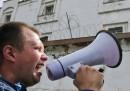 Le proteste per la condanna di Navalny