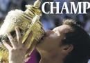 La vittoria di Murray sulle prime pagine britanniche