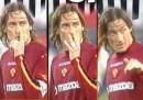 La GIF di Totti e la condanna di Berlusconi