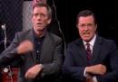 "Stephen Colbert balla ""Get Lucky"" dopo il bidone dei Daft Punk"