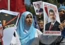 La manifestazione egiziana a Roma – foto