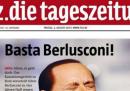 Le prime pagine internazionali su Berlusconi