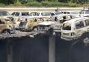 Le foto del parcheggio del Westgate a Nairobi, dopo l'attacco terroristico