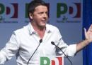 Cuperlo, Renzi e Civati all'assemblea del PD