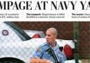 Le prime pagine americane sulla strage di Washington DC