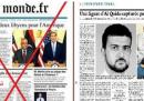 La falsa prima pagina di Le Monde che circola in Libia