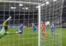 Il gol non gol del Bayer Leverkusen