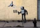 Il nuovo Banksy a Coney Island