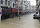 Le foto del tifone Fitow in Cina