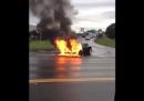 L'incidente della Tesla