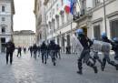 Scontri a Roma