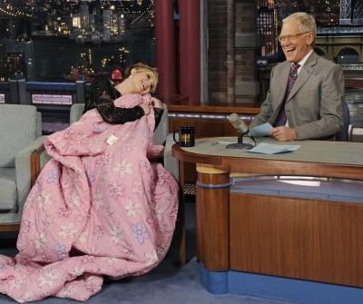 David Letterman e Jennifer Lawrence