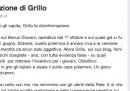 La risposta di Enrico Letta a Beppe Grillo, su Facebook
