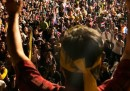 L'enorme protesta a Bangkok