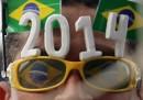 Il calendario dei Mondiali di calcio in Brasile