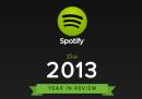Il 2013 di Spotify