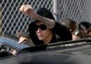 Le foto di Justin Bieber arrestato