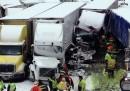 Il grande incidente stradale nell'Indiana