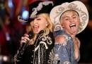 Il duetto di Miley Cyrus e Madonna a MTV Unplugged