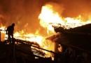 L'incendio a Dukezong