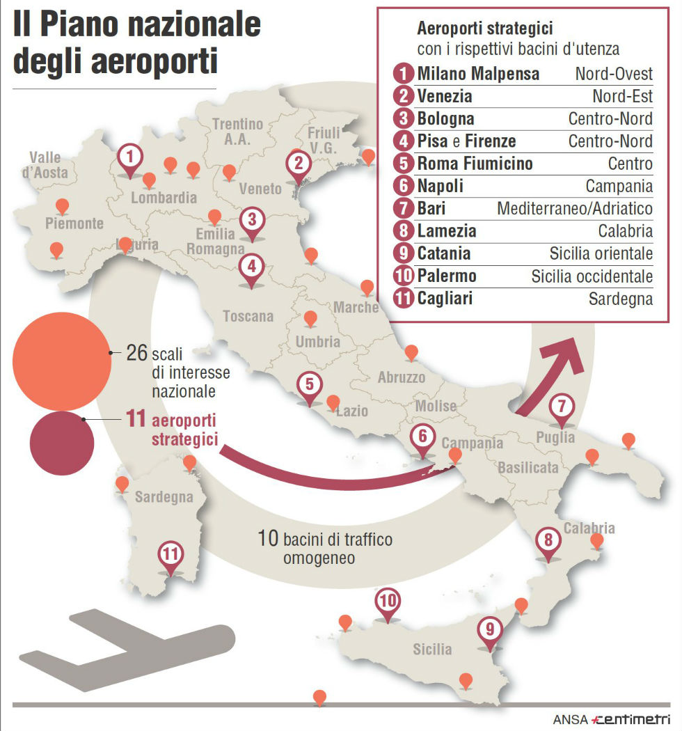 Sardegna Cartina Aeroporti.Aeroporti Sardegna Mappa