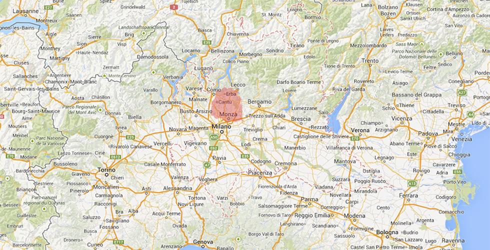 Cartina Geografica Della Brianza.Dov E La Brianza Il Post