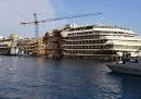 Le foto della Costa Concordia due anni dopo