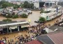 Le foto di Giacarta inondata